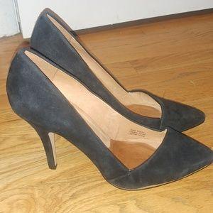 Madewell black heels. Size 10